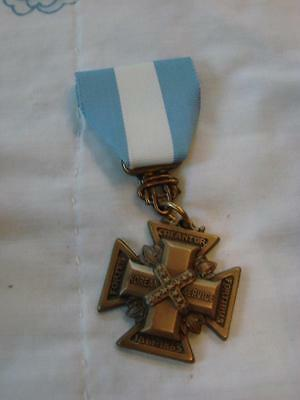 UDC Cross of Military Service for Korean Conflict (w/ certificate to recipient)