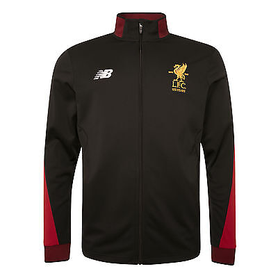 Liverpool FC LFC Junior Black Training Presentation Jacket 17/18 Official