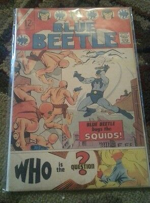 Blue Beetle #1 (Jun 1967, Charlton) First Appearance of The Question!!!  VG-