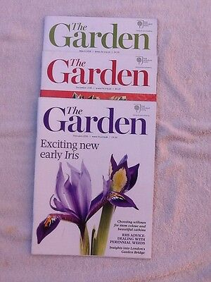 The Garden magazines, The Royal horticultural society, 2015 2016