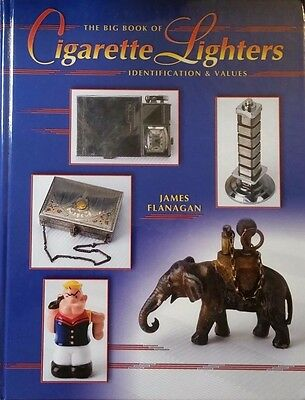 BIG BOOK OF CIGARETTE LIGHTER PRICE GUIDE COLLECTOR'S BOOK Zippo Ronson Evans ++