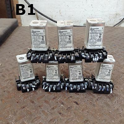 Allen-Bradley 700-HA33Z24 Series A Ice Cube/Plug-In Relay 230VAC 24VDC -Lot of 7