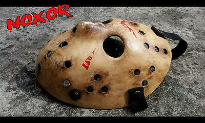 JASON  FRIDAY THE 13TH HALLOWEEN Hockey Mask Remake 2009