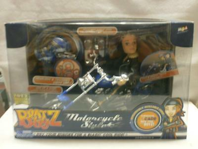 Bratz Boyz Motorcycle Style With Cade Figure Lights & Sounds  New And Sealed