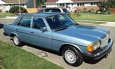 1985 Mercedes-Benz 300-Series W123 GORGEOUS SUPER RARE DIAMOND BLUE LAST YEAR W123 95K MILES LOW COST SHIPPING
