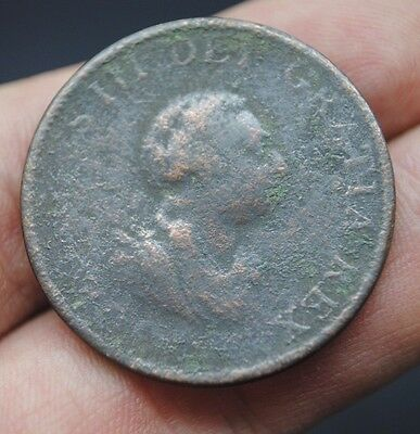 George Iii Copper Alloy Coin