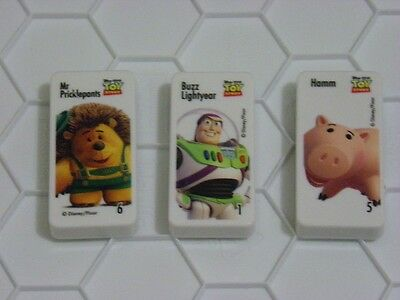 Woolworth Pixar Domino lot 4
