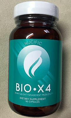 Nucific BIO X4 BIOX4 4-in-1 Weight Management Probiotic *FREE SAME DAY SHIPPING