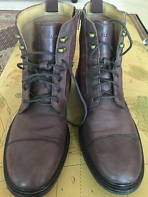Cole Haan Cap Toe Brown Leather Ankle Boot Men's Size 7
