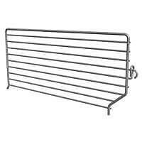 Lozier BFD Wire Binning Divider, 3 in L x 15 in D, Chrome Plated
