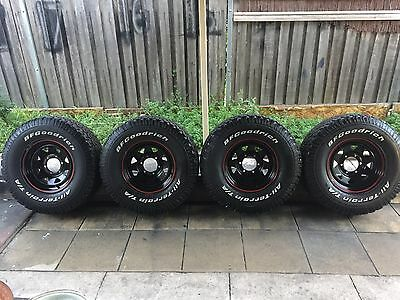 Toyota Hilux Wheels And Tyres 4x4 Sun Rizor 15 Inch Set Of 4