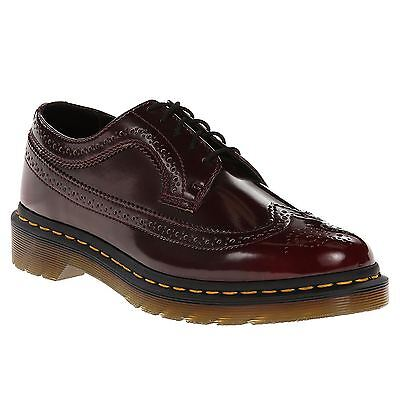 Dr.Martens 3989 5-Eyelet Cherry Womens Casual Oxford Shoes Vegan Leather