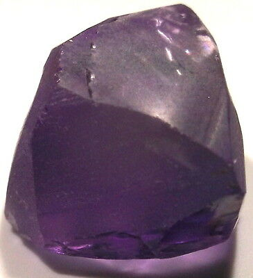 45.00 Carats, Internally Flawless Dark Amethyst Facet Rough From Bolivia