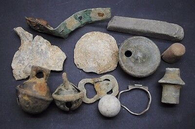 Interesting Mixed Lot Of Detector Finds,