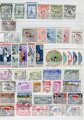Dominican Republic 45 Stamps 1943 – 1990 Including Olympics