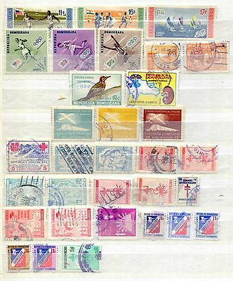 Dominican Republic 32 Stamps 1930 – 1983 Including Olympics