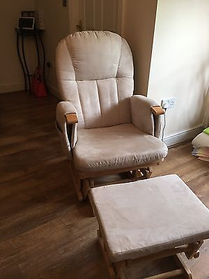 Mothercare Natural Reclining Glider Chair