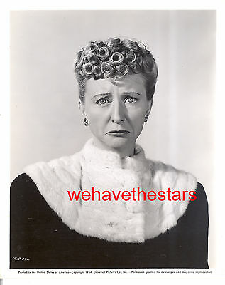 Vintage Irene Ryan CHARACTER ACTRESS '44 Publicity Portrait BEVERLY HILLBILLIES