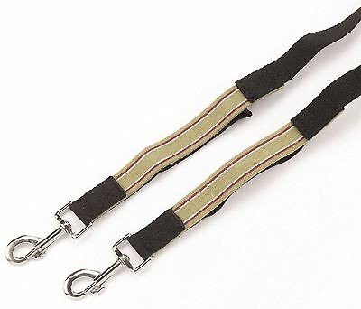 Hy Elasticated Side Reins -Training Aid & Lunging Aid for Horses 4349