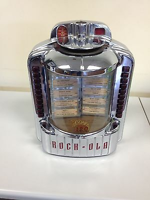 Rock-ola 1546 Jukebox Selector comet 120 selections 1950's Vintage wallbox