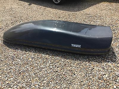 Thule XL Roof Box in Carbon Fibre - Used