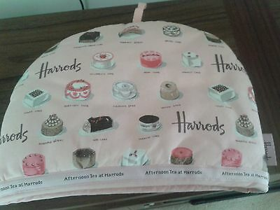 Harrods 'Afternoon Tea' tea cosy Unused Lovely Condition