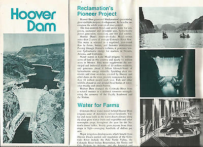 1974 Hover Dam Illustrated Document