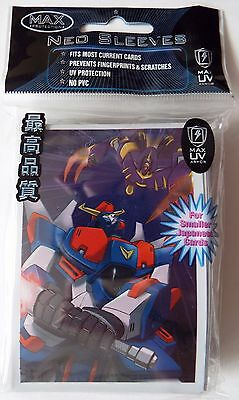 Max Protection Robo-War Robots Trading Card Sleeves - For Smaller Japanese Cards