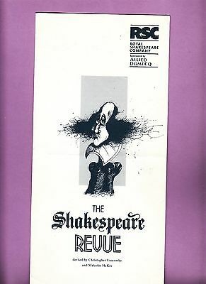 1995 The Pit London Theatre Programme  THE SHAKESPEARE REVUE - JANIE DEE