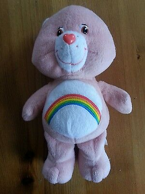 Pink Care Bear Soft Toy