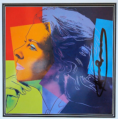 "(531) Andy Warhol, HANDSIGNIERT, ""Ingrid Bergman - Herself"""