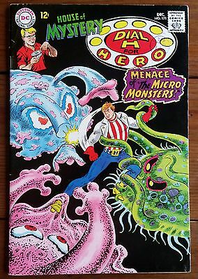 HOUSE OF MYSTERY 171, featuring DIAL H FOR HERO, DEC 1967, DC COMICS, FN