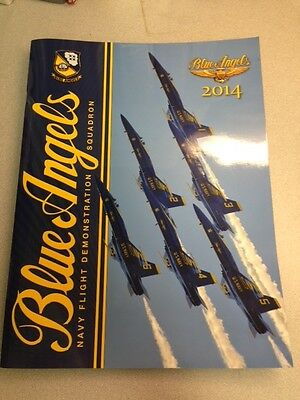 Authentic Official Navy Blue Angels 2014 Year Book  Mint New