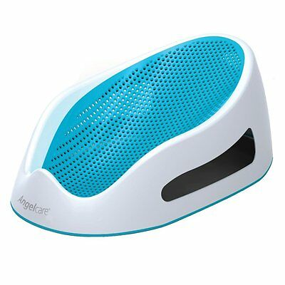 Angelcare Soft Touch Bath Support - Aqua * Brand New * Fast Delivery