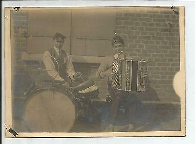 59 - Anzin - Valenciennes - Carte Photo Unique - 1920 - Orchestre - Musiciens -