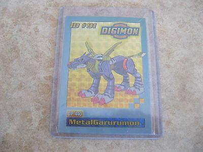 1999 Digimon Id#91 Metalgarurumon