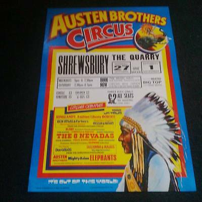 Austen Brothers circus poster