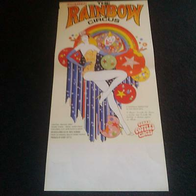 Gerry Cottles Rainbow circus poster