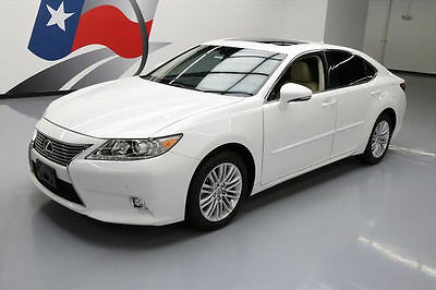 2014 Lexus ES Base Sedan 4-Door 2014 LEXUS ES350 SUNROOF CLIMATE SEATS NAV REAR CAM 39K #089593 Texas Direct