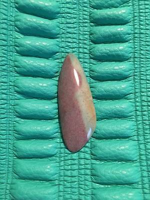 Spectacular Fancy Jasper cabochon muted teal and pink loose stone