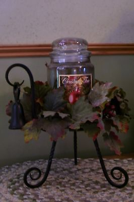PartyLite Barrington Cande Holder ~ Excellent Pre-Owned ~ In Original Box