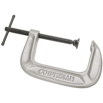 """Wilton 41409 C-Clamp, 0 To 8"""" Opening, 4"""" Throat Depth, Ductile Iron Frame"""