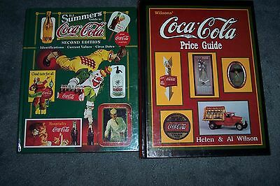 1994 Wilson's Coca Cola Price Guide Hc & Bj Summers Guide 1999 Hc Lot Of 2