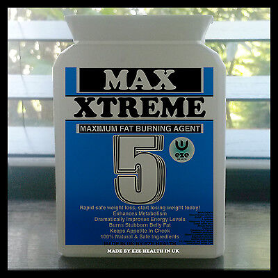 Weight Loss Pills Strong Max 5 Fat Burners Diet Slimming Tablets Capsules