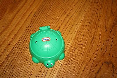 Little Tikes Green Turtle Sand Box Doll House Size  Burger King