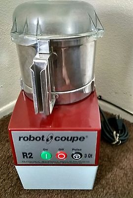 Robot Coupe R2 W/ Stainless Steel Bowl & Blade