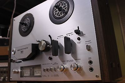 Vintage AKAI GX-4000D reel to reel deck in EXCELLENT condition TESTED SERVICED
