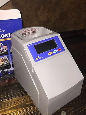 18860 - Royal Sovereign Fast Sort FS-3D Digital Coin Sorter Count & Roll