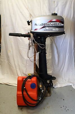 Murcury Mariner 4Hp Outboard Engine