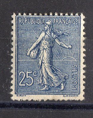 FRANCE: TIMBRE TYPE SEMEUSE YTN°132a NEUF* Cote: 110,00€